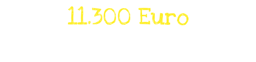 11300 Euro kamen am Welttrinkgeldtag 2018 zusammen